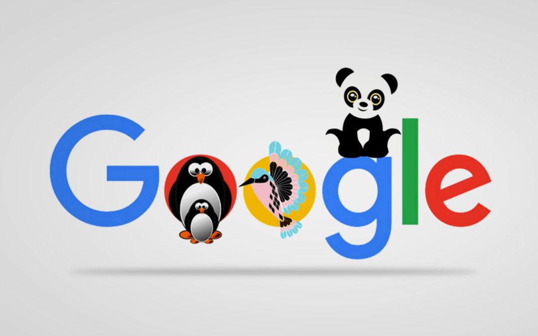 Google SEO Algorithm Update History